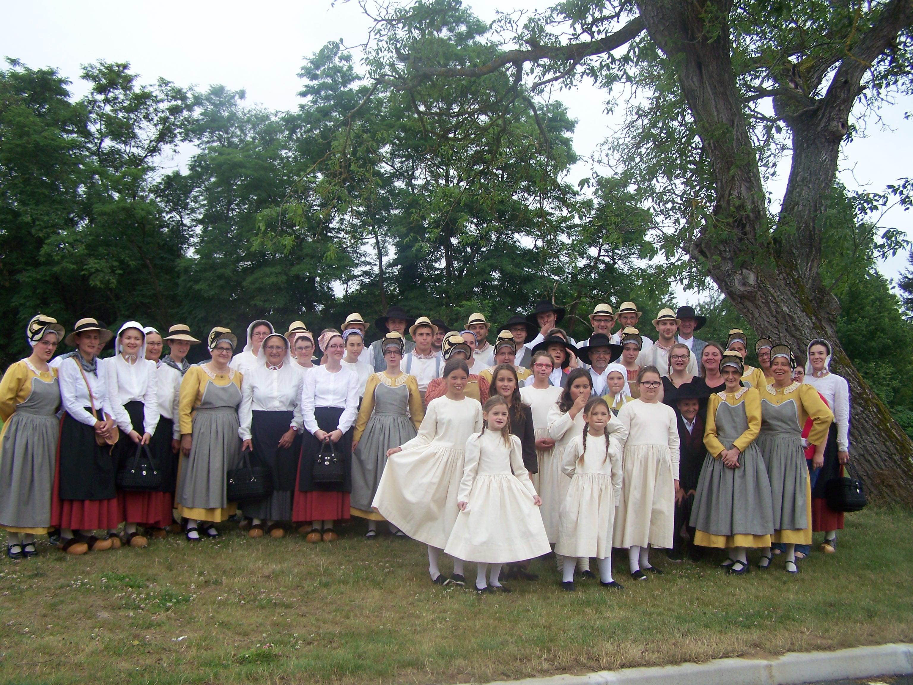 Groupe folklorique aizenay le vircouet