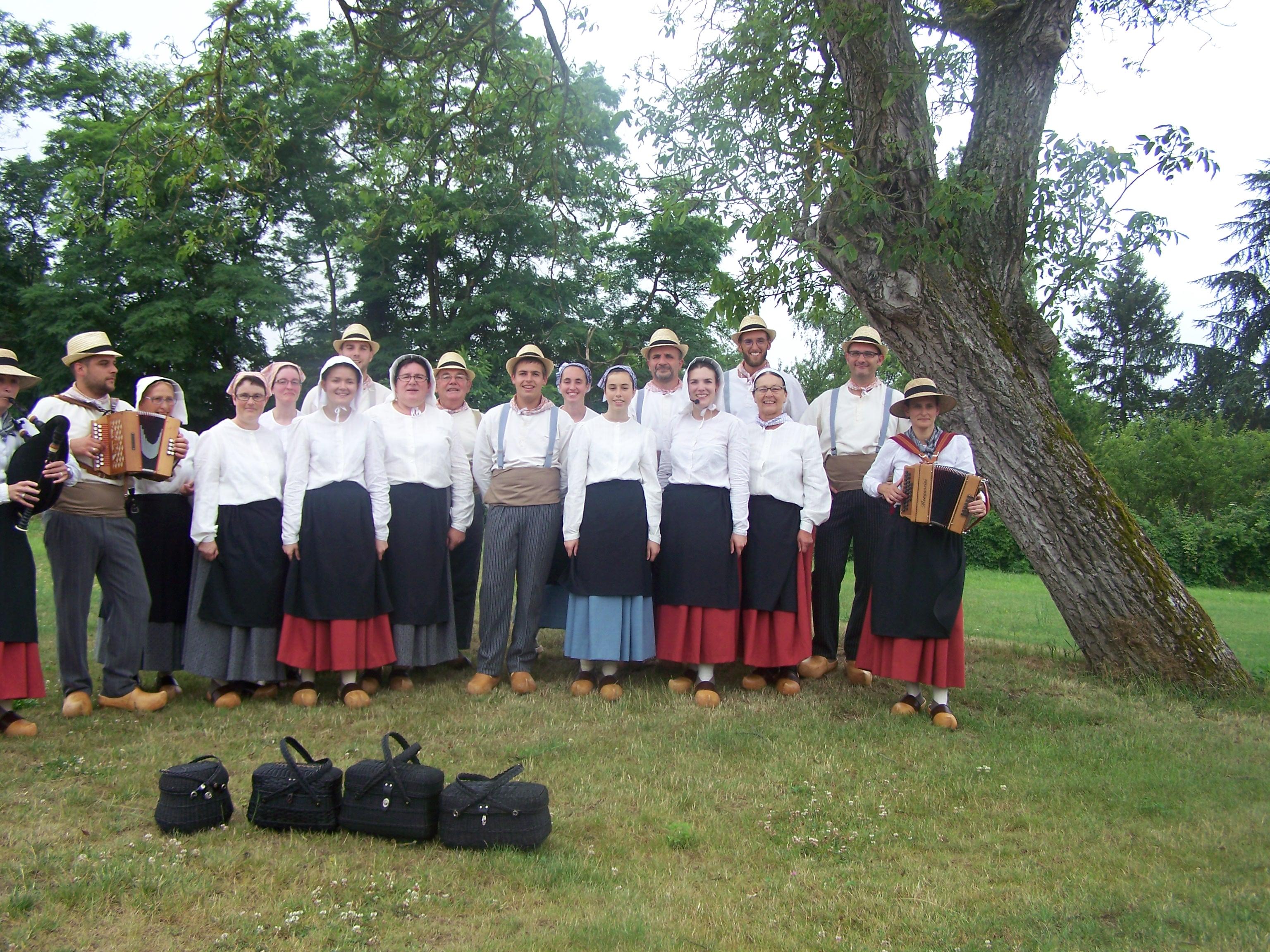 Le vircouet danse folklorique vendée