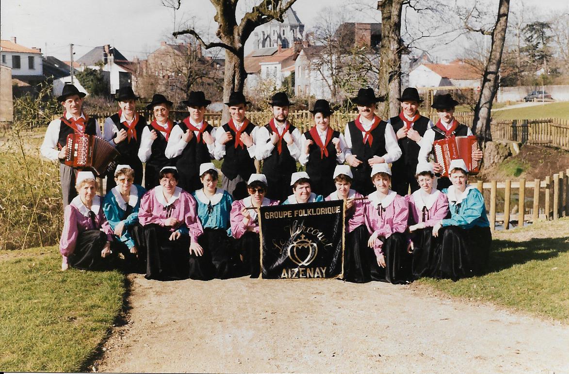 Vircouet groupe danse en 1988